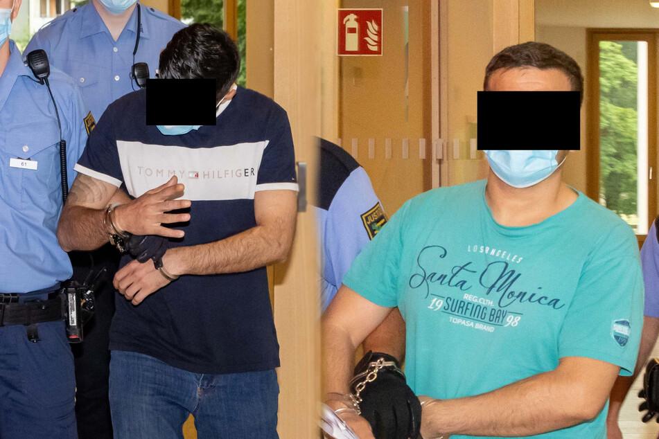 Links: Natik A. (39) ist froh, derzeit in Haft zu sitzen. Rechts: Asad M. (34) kam am Mittwoch nicht wieder auf freien Fuß.