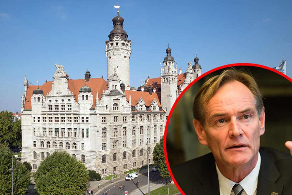 10 Millionen Euro stehen der Stadt Leipzig zusätzlich zur Verfügung - Oberbürgermeister Burkhard Jung muss nun entscheiden, was mit dem Geld passiert.