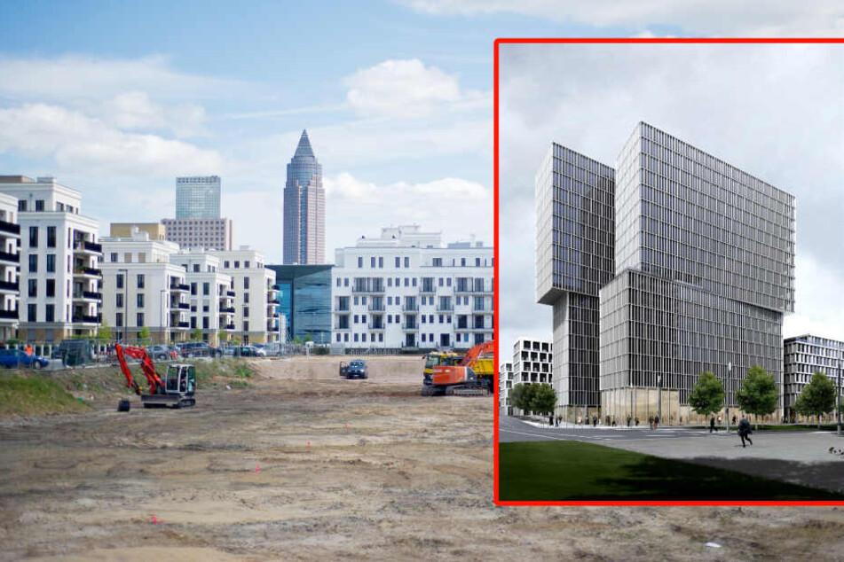 Dieser Büroklotz soll bald im Europaviertel stehen