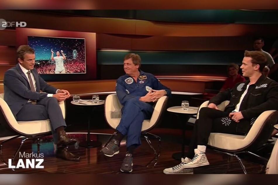 Bei Markus Lanz sprach der Star über die Tücken des DJ-Alltags.