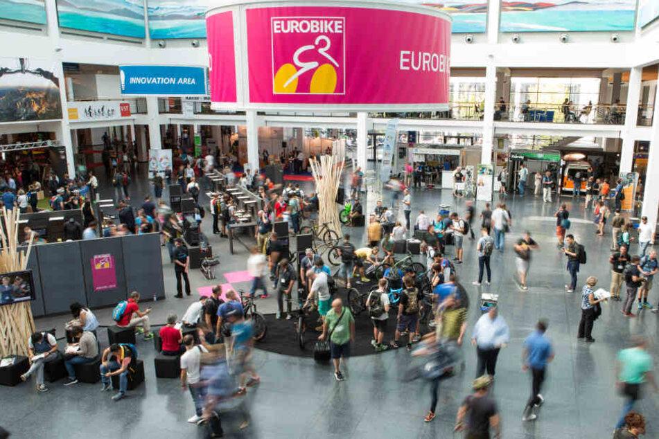 """Die """"Eurobike"""" in Friedrichshafen ist die globale Leitmesse des  Bike-Business."""