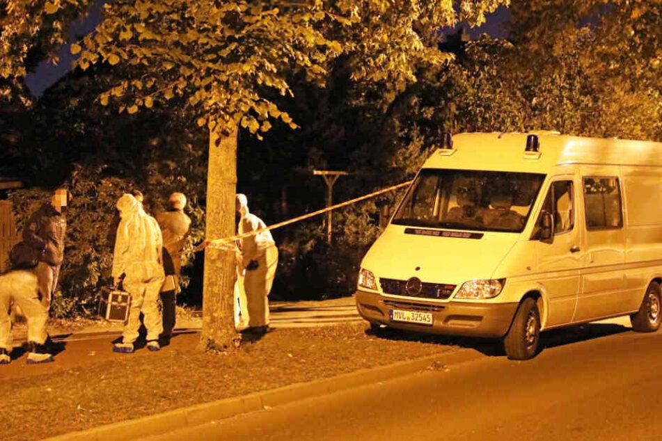 Kripo und Spurensicherung waren am Tatort im Einsatz.