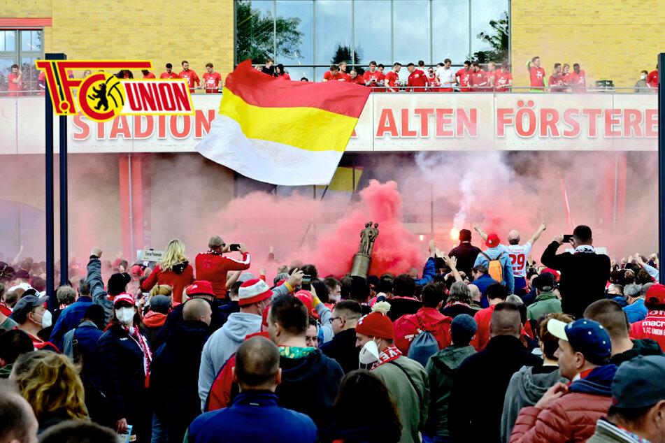 Fan-Party bei Union Berlin: Jetzt ermittelt die Polizei
