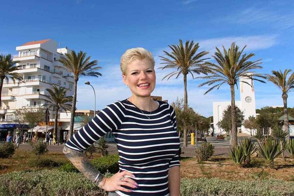 Melanie Müller weilt derzeit auf Mallorca. Vom Babybauch ist noch nicht viel zu sehen.