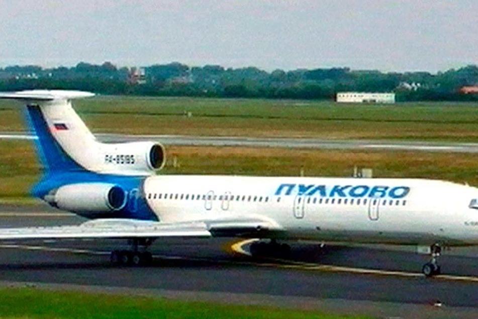 Eine Tupolew Tu-154. Mit diesem Flugzeug startete der Armee-Chor in Richtung Syrien. (Archiv)