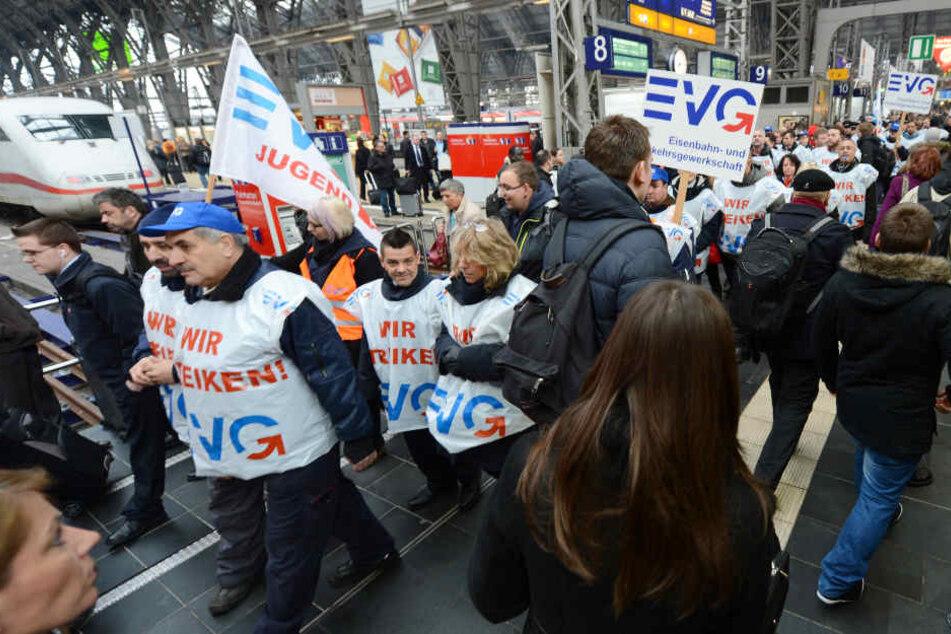 Bahnstreik Am Montag