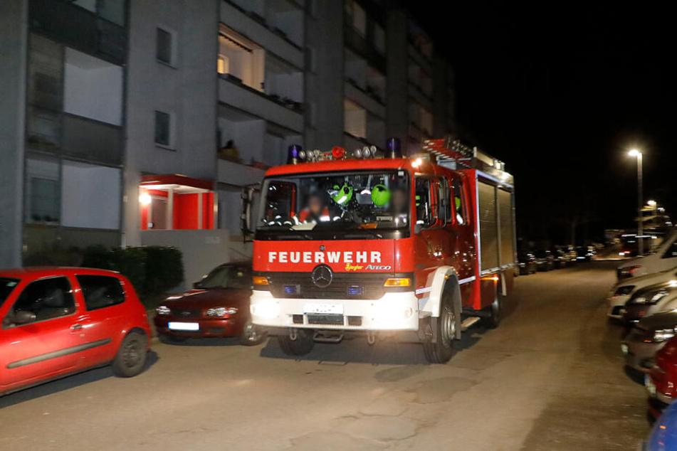 Auch in Chemnitz musste die Feuerwehr zu einem Kellerbrand ausrücken.