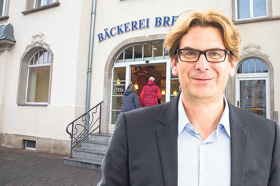 Die Expertise von Rechtsanwalt Andrew Seidl half der Bäckerkette Bresan (hier eine Filiale in Dresden).
