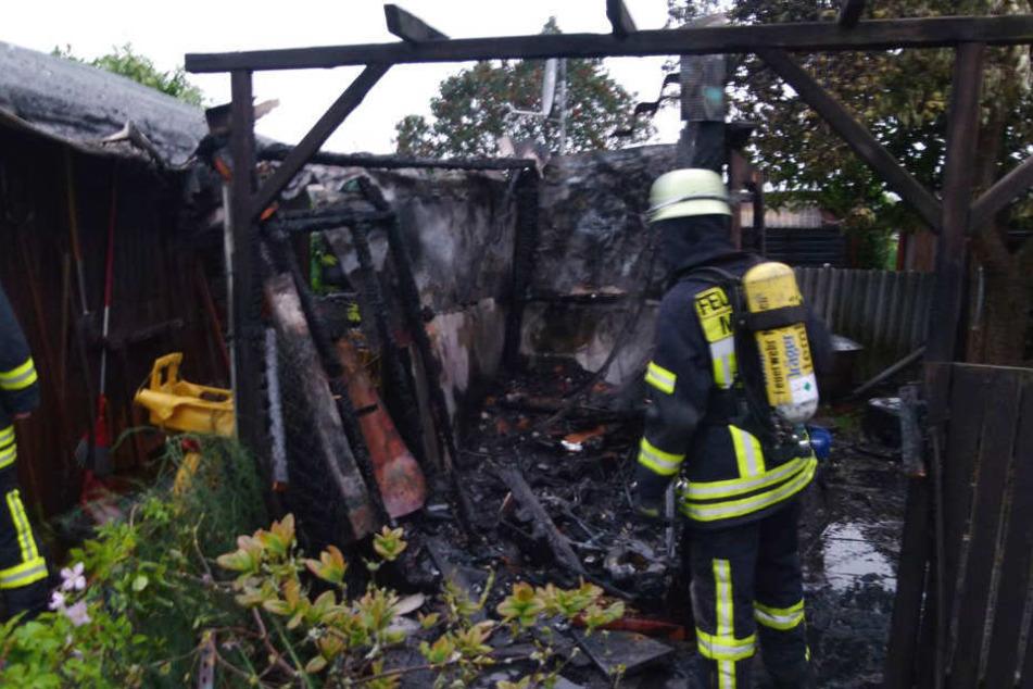 Die beiden Feuerteufel hielten die Feuerwehr in Minden auf Trab.