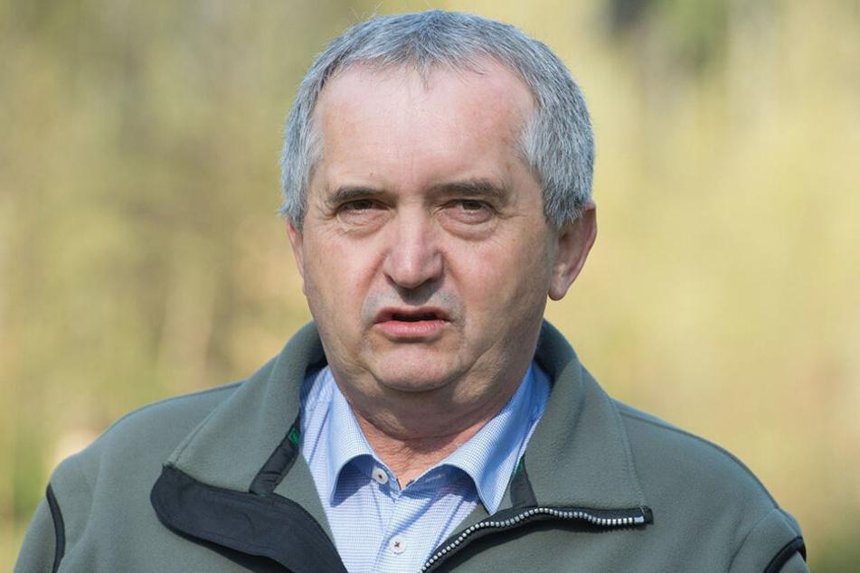 Sachsens Umweltminister Thomas Schmidt (58).