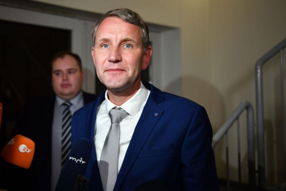 Björn Höcke nach der Landtagswahl in Thüringen.