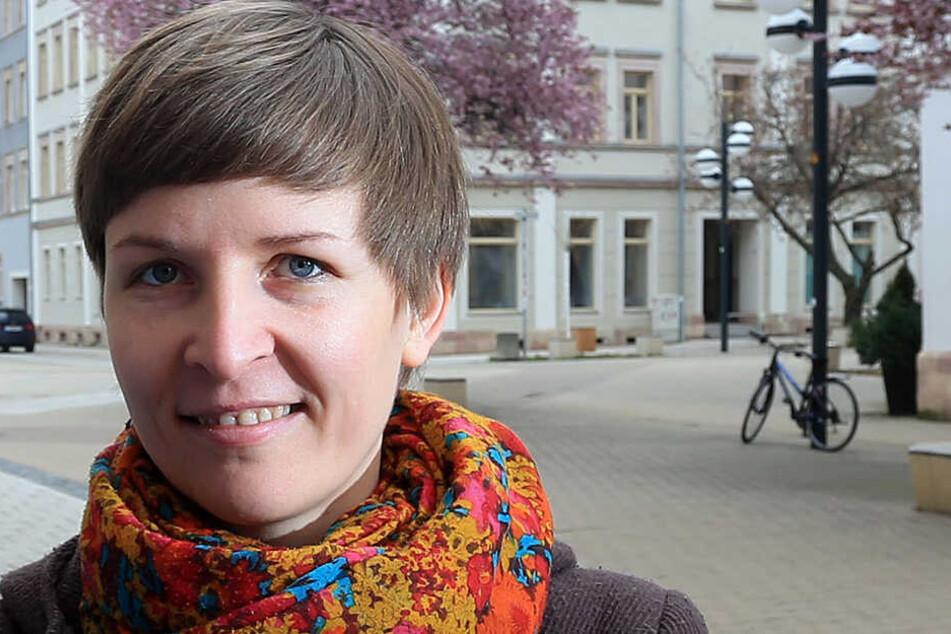 Susann Mäder (35, Grüne).