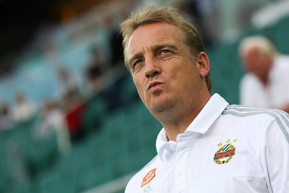 Hat schon einige namenhafte Verein trainiert: Zuletzt war Mike Büskens für Rapid Wien an der Seitenlinie.