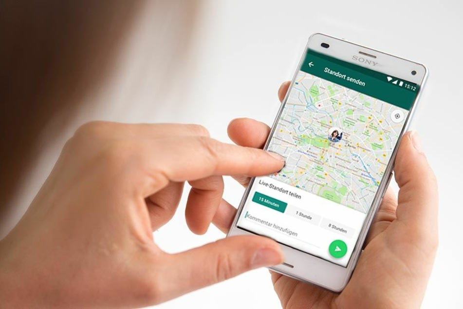 Die neue Live-Funktion ermöglicht es, seinen Standort zu teilen. (Bildmontage)