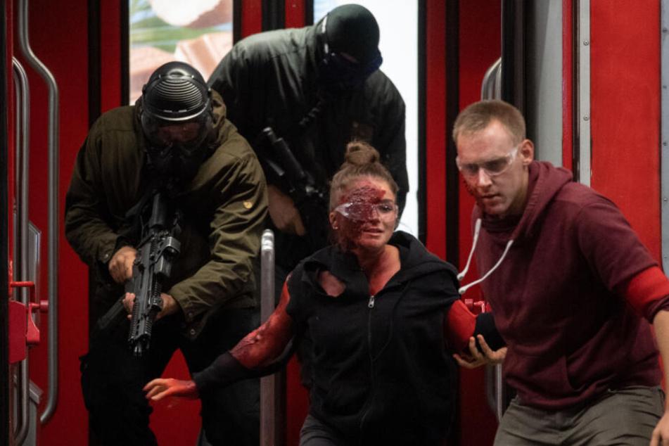 Die letzte Anti-Terror-Übung in Stuttgart fand im September 2018 statt.