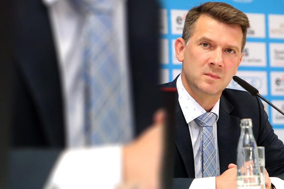 CFC-Vorstandschef Andreas Georgi arbeitet daran, die Mitgliederversammlung abzusichern.