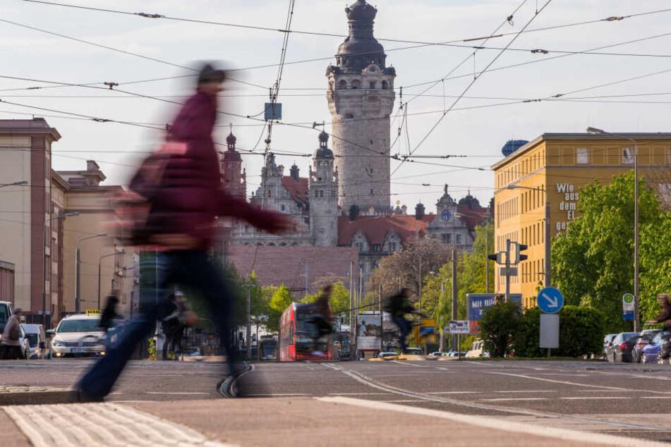 Noch 2015 waren knapp 16 700 Menschen nach Leipzig gezogen. Davon war im ersten Halbjahr 2017 wenig zu spüren.