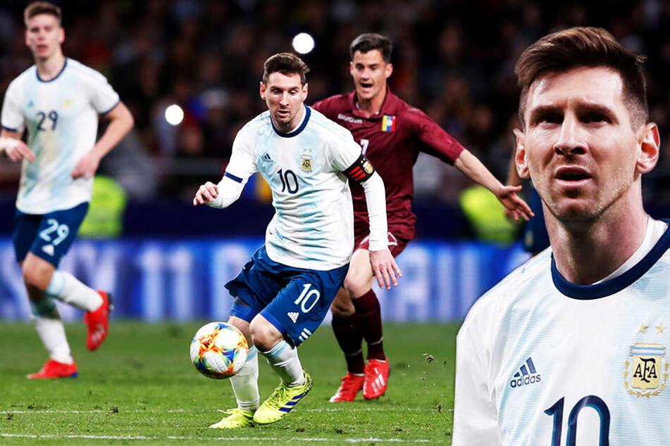 Ratlos in Madrid: Argentinien blamiert sich bei Comeback von Superstar Messi!
