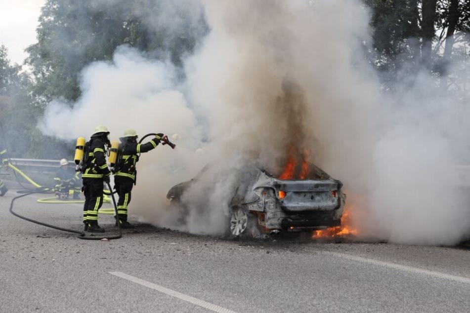 Katastrophe nach Wacken: Wagen von Festival-Gruppe geht in Flammen auf