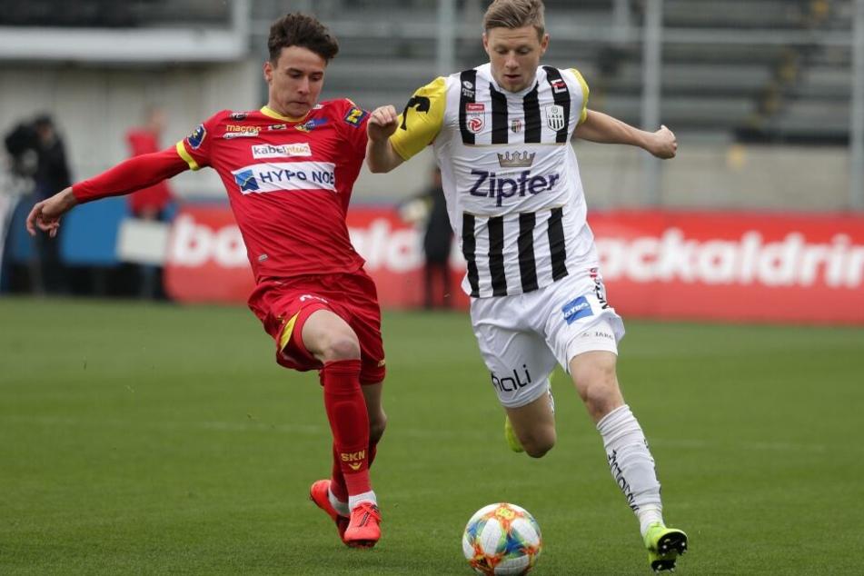 Möglicher Sommer-Neuzugang: Maximilian Ullmann (r.) soll sich ins Blickfeld von Hertha BSC gespielt haben.