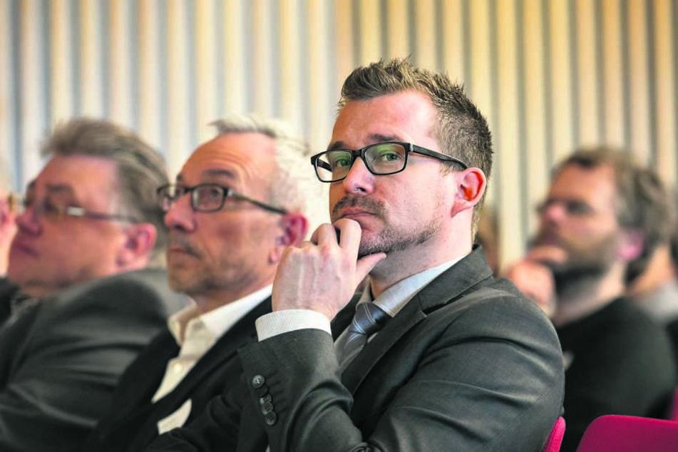Baubürgermeister Raoul Schmidt-Lamontain (40, Grüne).