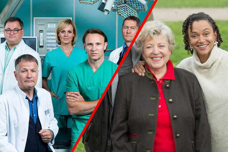 """Zwei gemeinsame Folgen soll es geben. Unter anderem dabei: Sarah Masuch aus der """"Lindenstraße"""" (ganz rechts) und Bernhard Bettermann (Mitte, vorn)"""