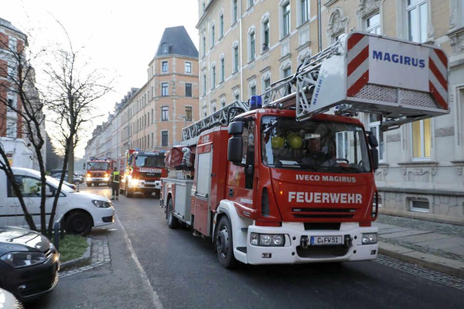 Am Donnerstagmorgen hat es in einer Wohnung in der Matthesstraße gebrannt.