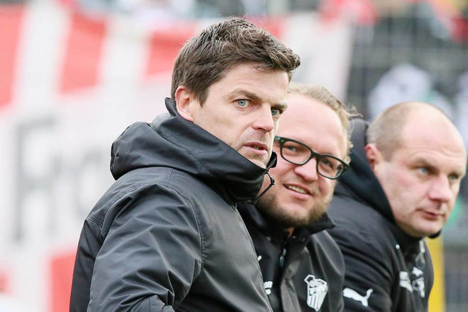 Die Wege des langjährigen FSV-Dreigestirns Torsten Ziegner, Danny König und David Wagner (v.l.) werden sich im Sommer trennen.