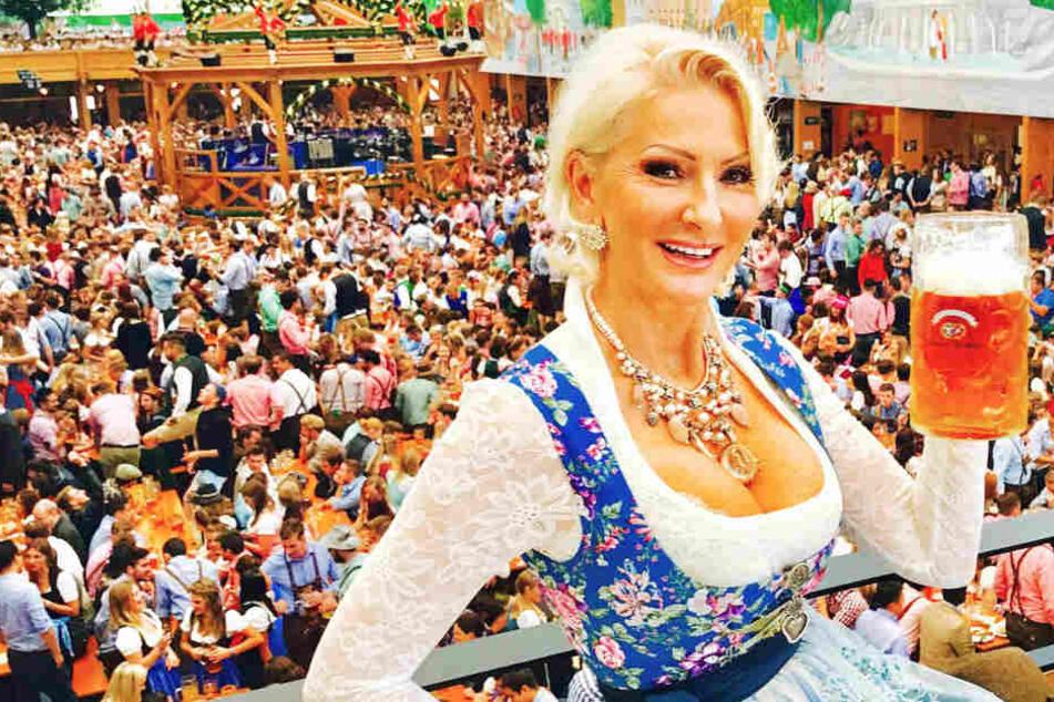 Auf dem Münchner Oktoberfest ließ sich sich Désirée Nick (60) richtig gut gehen - ganz ohne Paparazzi.