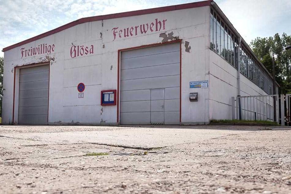 Freude auch in Glösa: Das alte Feuerwehrgerätehaus soll durch einen Neubau ersetzt werden.