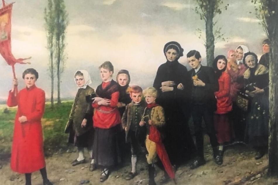 Wer kann Hinweise zu diesem gestohlenen Gemälde geben?