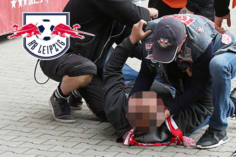 Fan stürzt bei RB-Sieg von Tribüne, Rangnick leistet Erste Hilfe