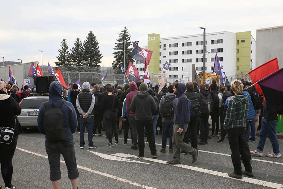 Der Polizei wird nach den Demonstrationen am Sonntag Schikane vorgeworfen.