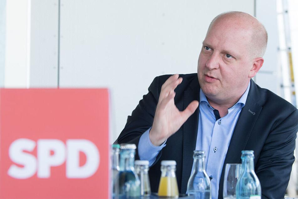 Henning Homann (39, SPD) sieht ein deutliches Warnsignal.