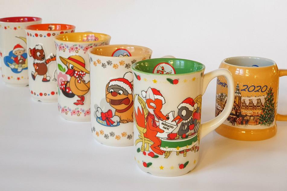 Neben dem neuen Motiv sind in diesem Jahr auch die Tassen der vergangenen Jahre erhältlich.