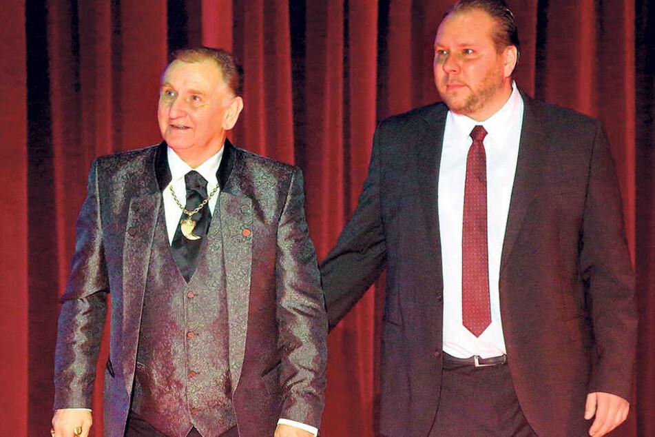 Mario Müller-Milano (68, links) war zu Tränen gerührt.
