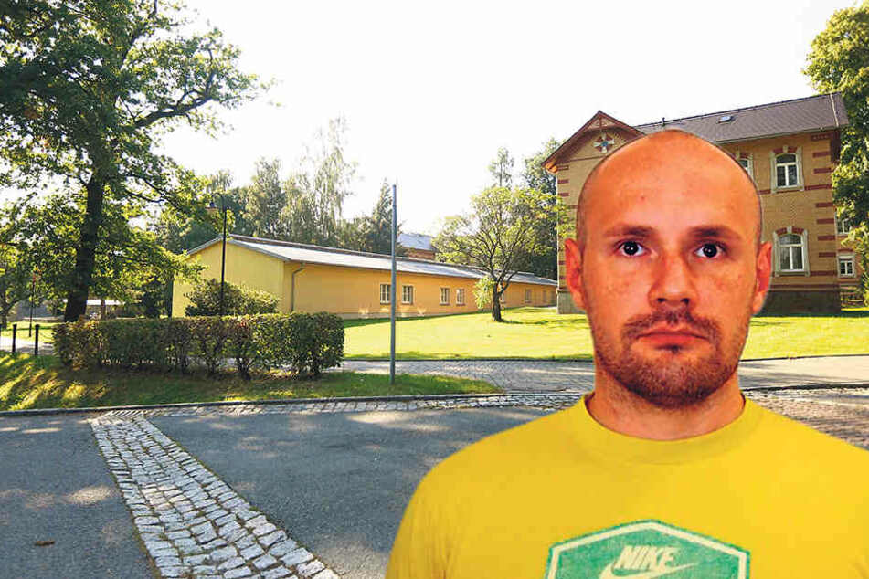 Im Sächsischen Krankenhaus Großschweidnitz muss der GefloheneIngo Schneller (37) seine Haftstraßeverbüßen.