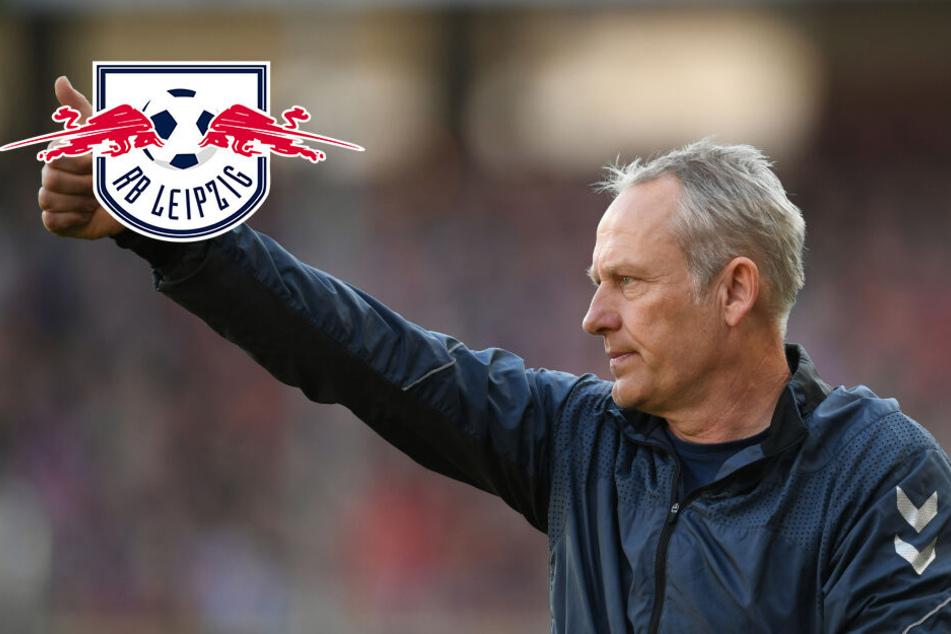 """Freiburg-Coach Streich lobt RB Leipzig: """"Sehr gut für unser Land"""""""