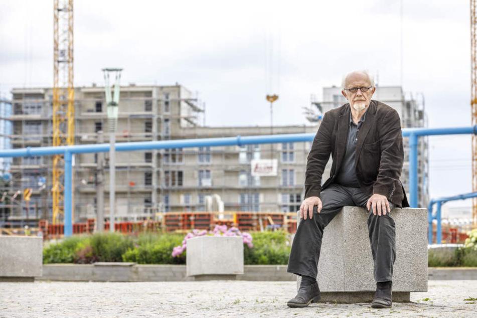 Grünen-Stadtrat Michael Schmelich (63) kritisiert die Pläne der Verwaltung.