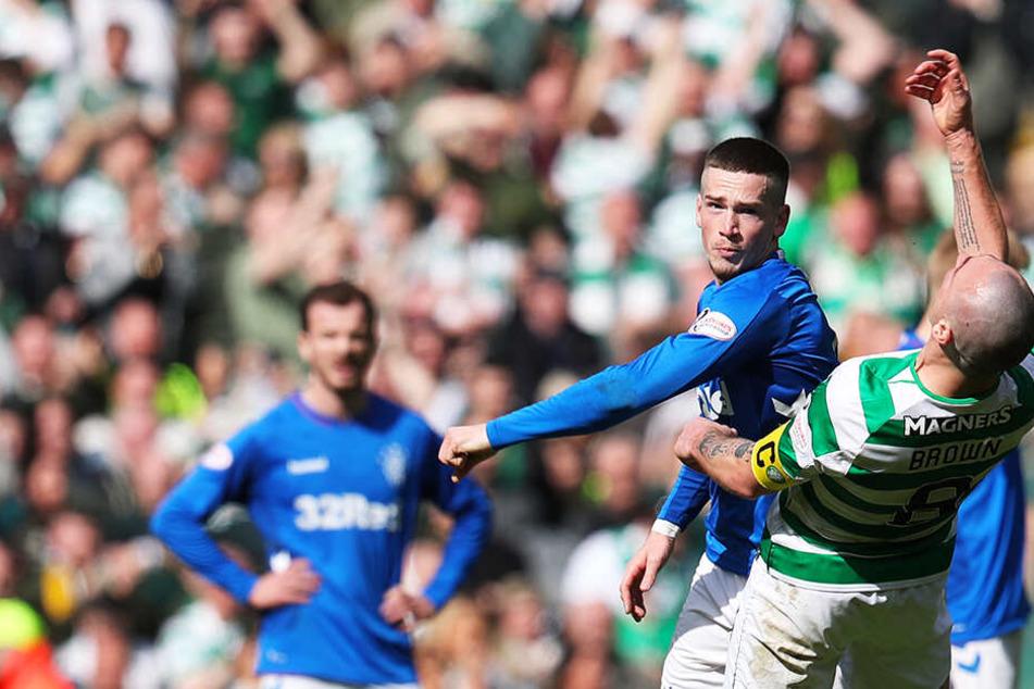 Tätlichkeit und Faustschlag: Hitziges Derby zwischen Celtic Glasgow und den Rangers!