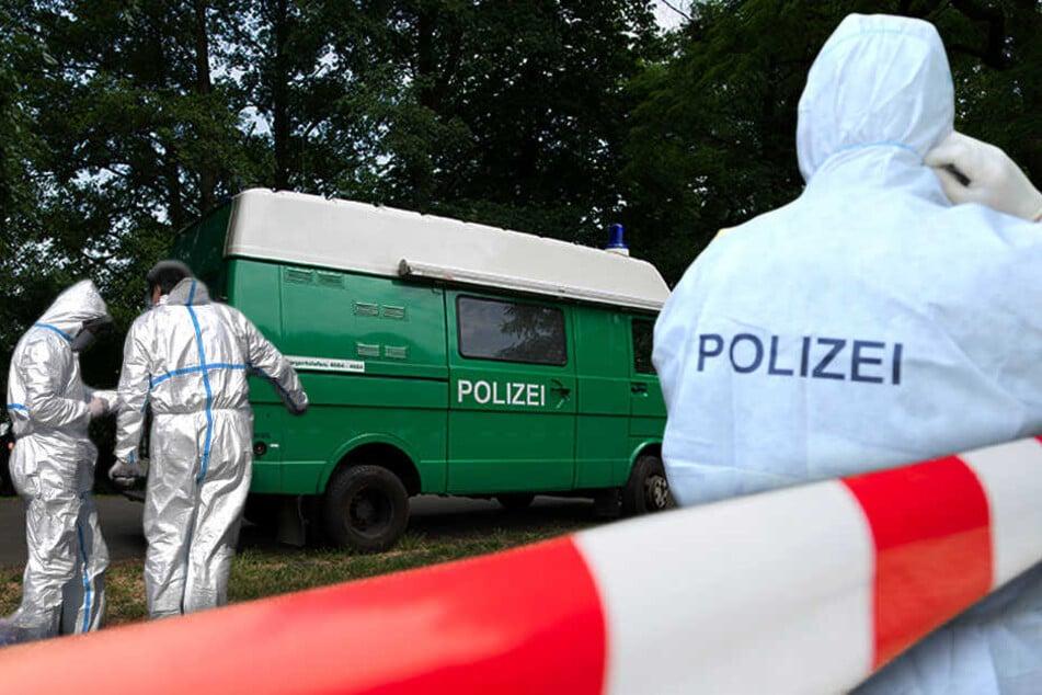 Die Polizei sicherte in Moabit die Fundstelle der Leiche. (Symbolbild)