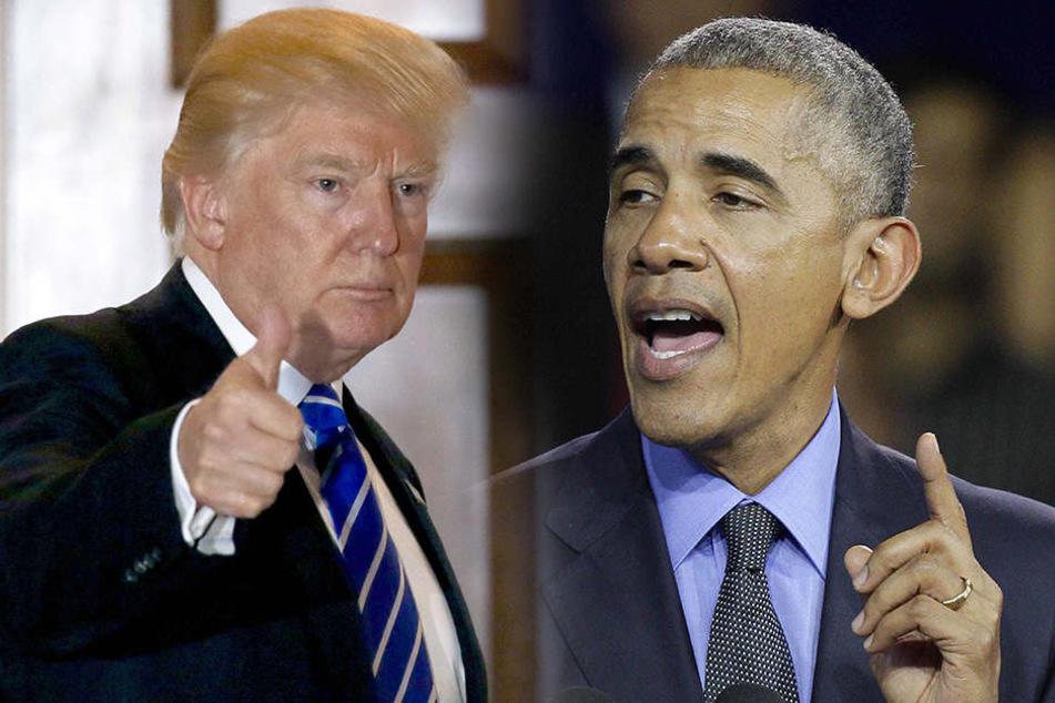 """Obama: """"Erwartet nicht das Schlechteste""""... zu Trump."""