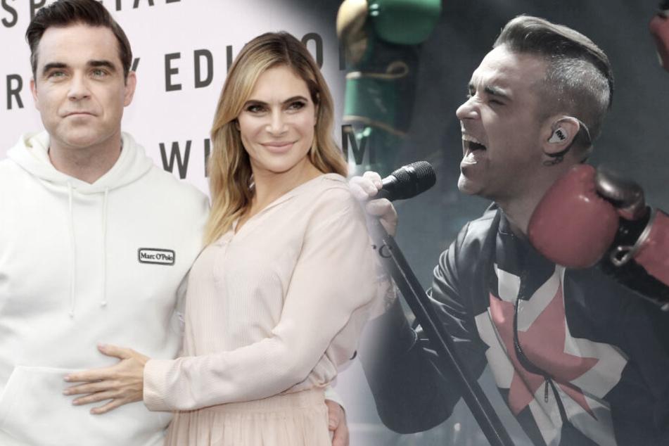 Alkohol-Beichte! Ist Superstar Robbie Williams etwa rückfällig geworden?