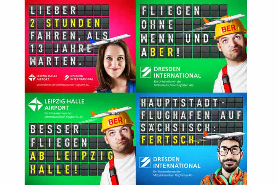 Nach BER-Fail: Berliner sollen bald ab Leipzig/Halle und Dresden fliegen