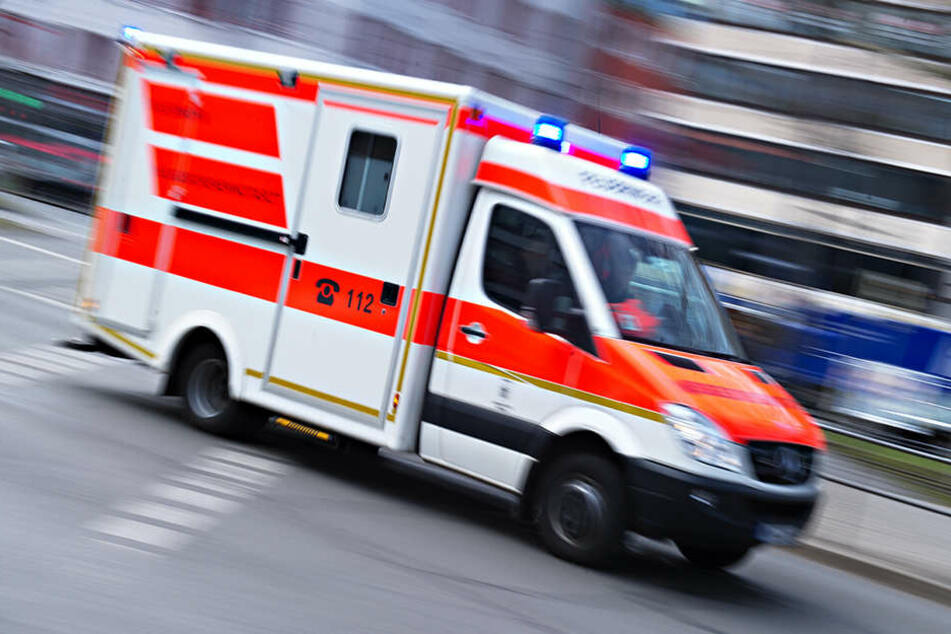 Mehrere Menschen mussten verletzt behandelt werden.