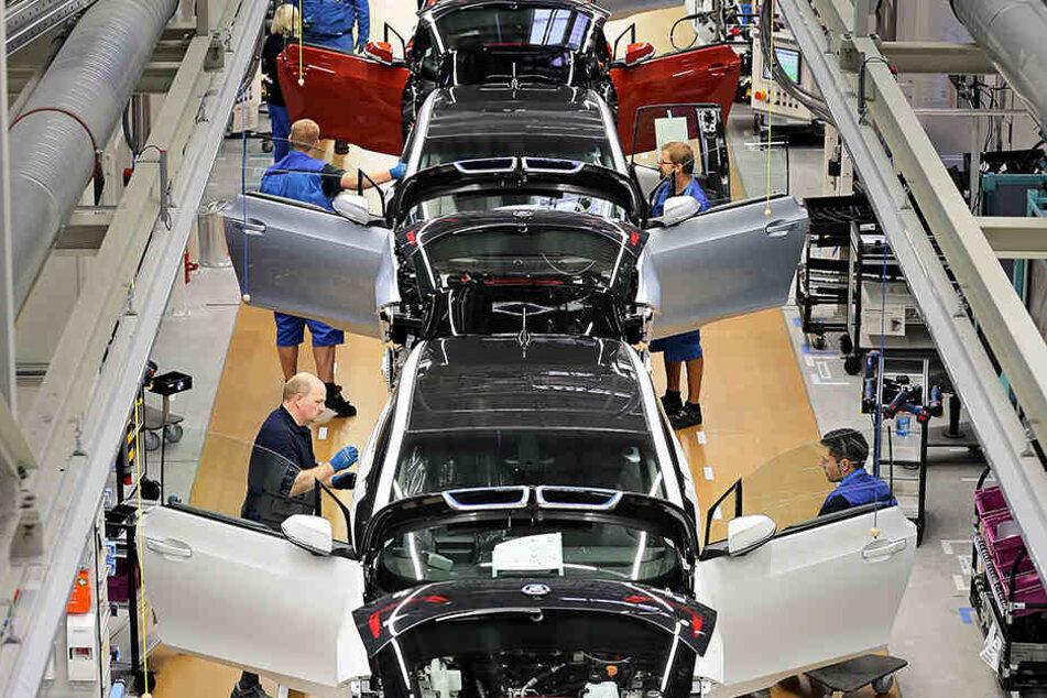 Produktions-Stopp: BMW-Werk Leipzig teilweise lahmgelegt