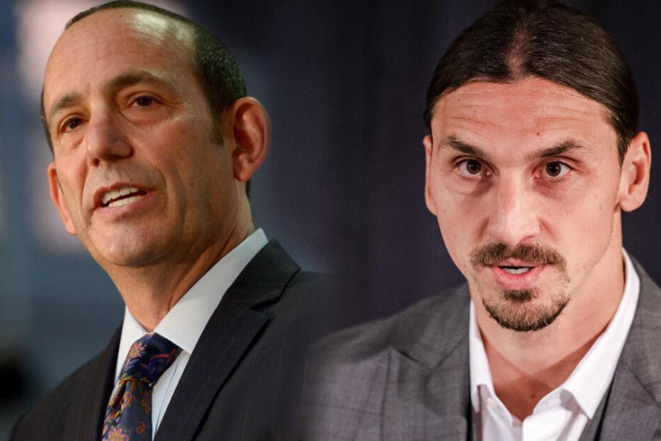 Ibrahimovic zurück nach Italien? MLS-Boss plaudert Zlatans neuen Verein aus