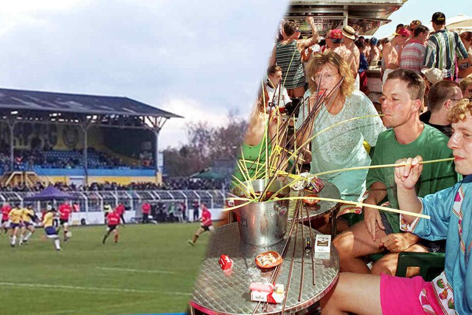 Dieses sächsische Stadion wird zur Partyinsel für Malle-Fans