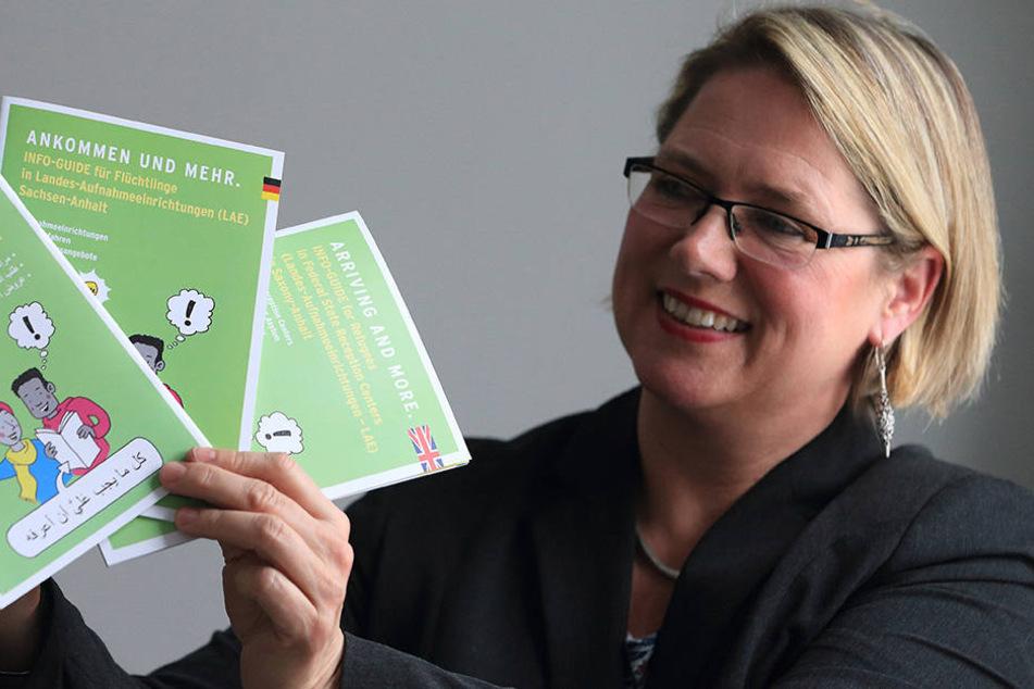 Susi Möbbeck (SPD), Integrationsbeauftragte Sachsen-Anhalts, weiß, dass Integration ein langer Prozess ist.