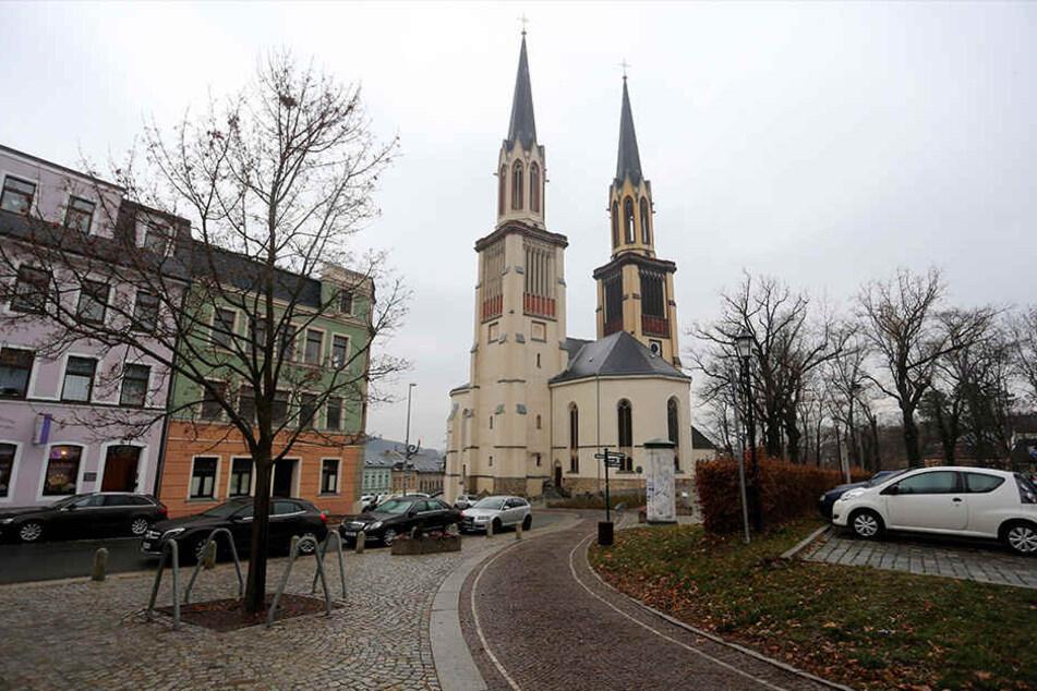 Zur Jakobikirche in Oeslnitz hat Familie Hertel eine ganz besondere Beziehung.